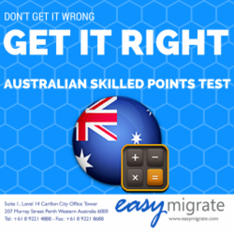 New Points System For Skilled Migrants To Australia