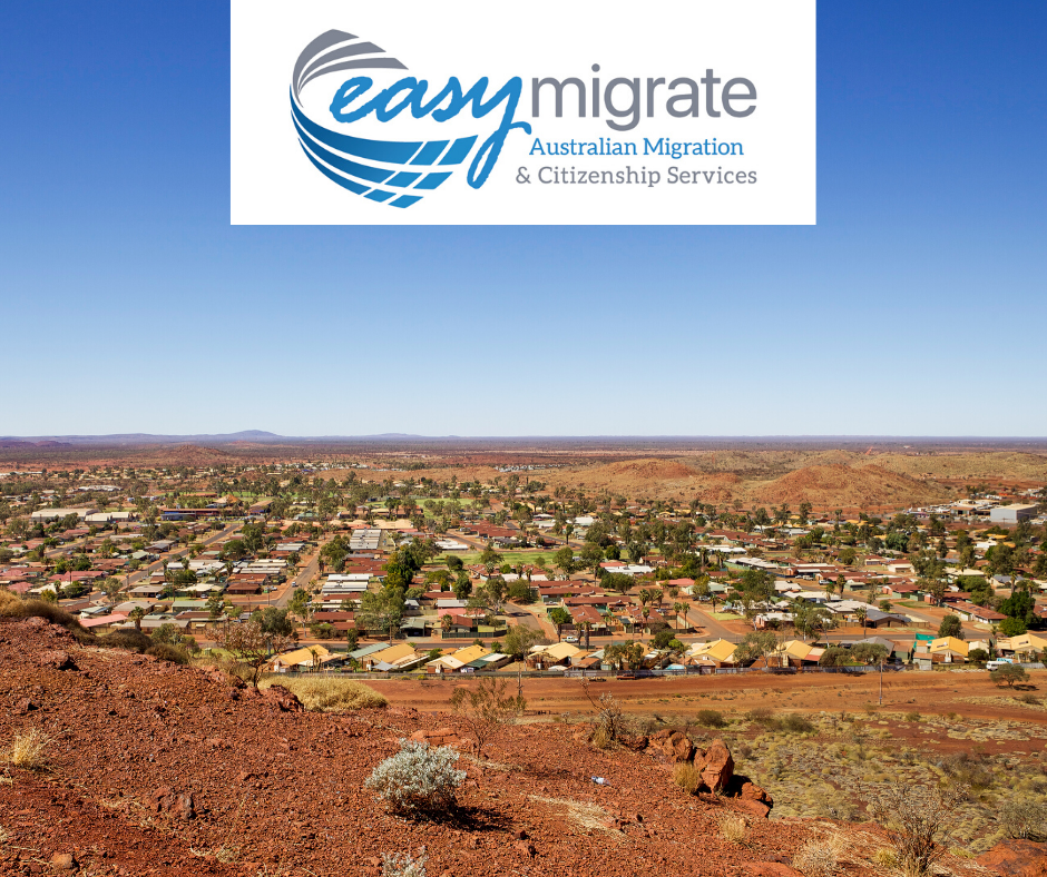 Regional Australia is now open for migrants to migrate Perth Gold Coast included
